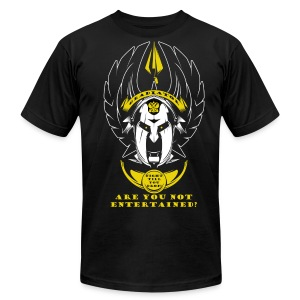 Official Gladiator Training Shirt - Men's T-Shirt by American Apparel