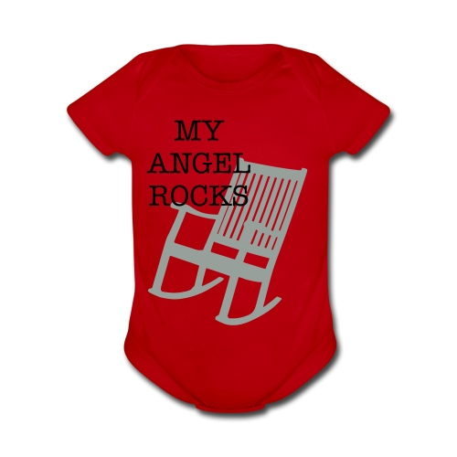 Rockin Angel - Organic Short Sleeve Baby Bodysuit
