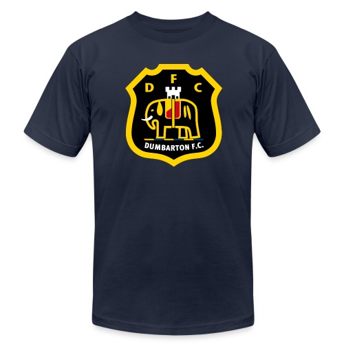Dumbarton FC - Men's Fine Jersey T-Shirt