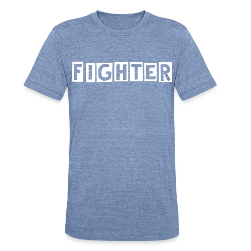 Fighter (M) - Unisex Tri-Blend T-Shirt