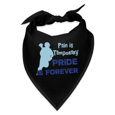 Pain Is Temporary (Lacrosse) Caps