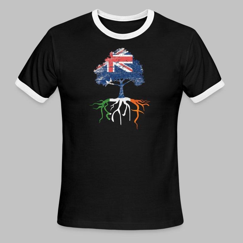Australian Irish Roots - Men's Ringer T-Shirt