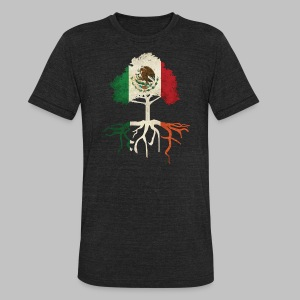 Mexican Irish Roots - Unisex Tri-Blend T-Shirt by American Apparel