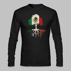 Mexican Irish Roots - Men's Long Sleeve T-Shirt by Next Level