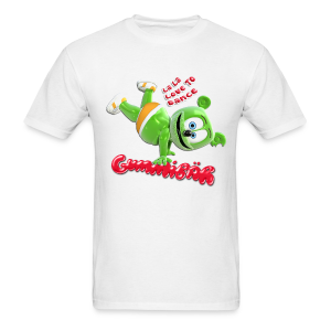 Gummibär (The Gummy Bear) La La Love To Dance Men's T-Shirt - Men's T-Shirt