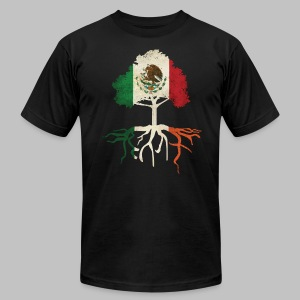 Mexican Irish Roots - Men's T-Shirt by American Apparel