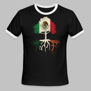 Mexican Irish Roots - Men's Ringer T-Shirt