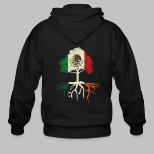 Mexican Irish Roots - Men's Zip Hoodie