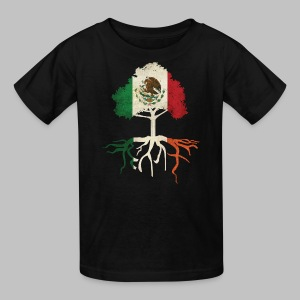 Mexican Irish Roots - Kids' T-Shirt