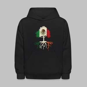 Mexican Irish Roots - Kids' Hoodie