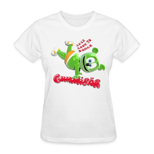 Gummibär (The Gummy Bear) La La Love To Dance Ladies T-Shirt - Women's T-Shirt