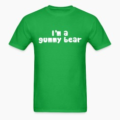 I'm A Gummy Bear Lyrics T-Shirts
