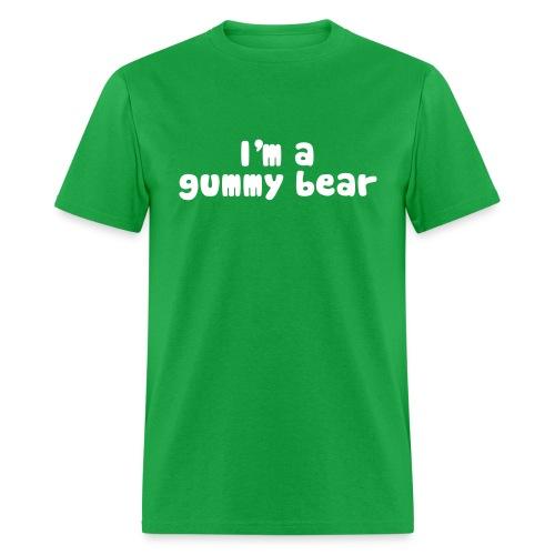 I'm A Gummy Bear Men's Lyric T-Shirt - Men's T-Shirt