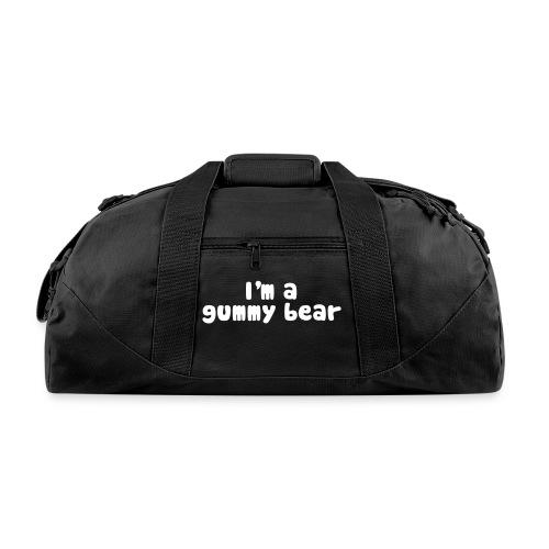 I'm A Gummy Bear Lyric Duffel Bag - Duffel Bag