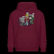 Hoodies ~ Men's Hooded Sweatshirt ~ The Cast