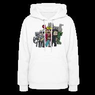 Hoodies ~ Women's Hooded Sweatshirt ~ The Cast