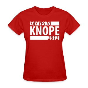 Say Yes to Knope 2012 Shirt - Women's T-Shirt