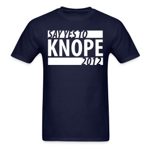 Say Yes to Knope 2012 Shirt - Men's T-Shirt