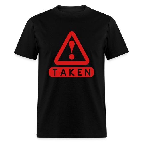 Taken Black/Red - Men's T-Shirt