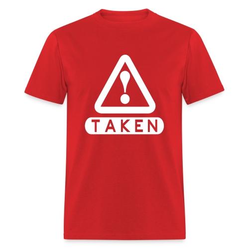Taken Red/White - Men's T-Shirt