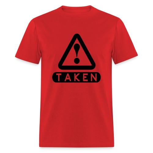 Taken Red/Black - Men's T-Shirt