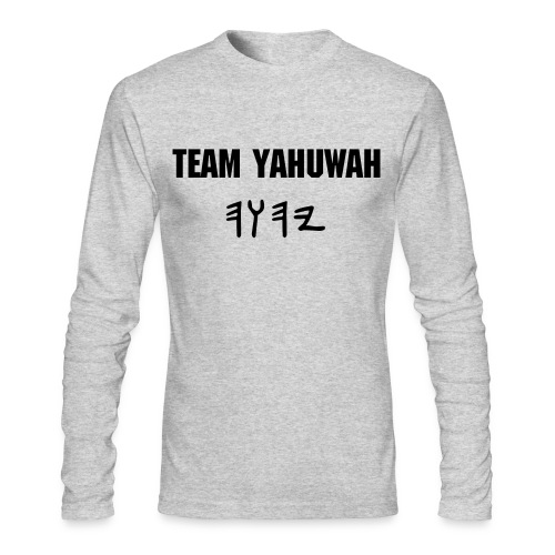 Team YaHuWaH - Men's Long Sleeve T-Shirt by Next Level