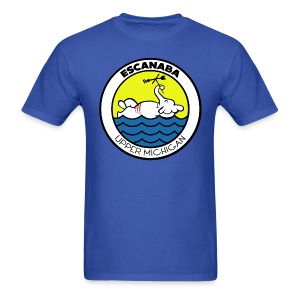 Escanaba, MI. Elephant - Men's T-Shirt