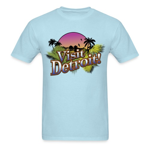 Visit Detroit! - Men's T-Shirt