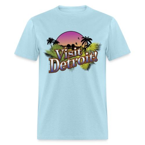 Visit Detroit! - Men's T-Shirt