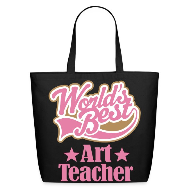 Art Teacher World S Best Las Tote Bag
