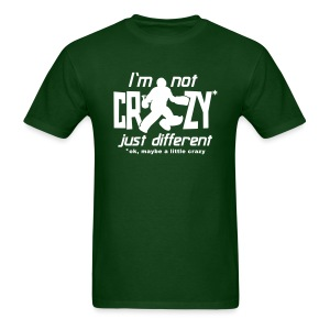 I'm Not Crazy (field hockey) Men's Standard Weight T-Shirt - Men's T-Shirt