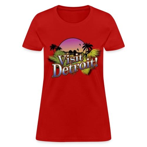 Visit Detroit! - Women's T-Shirt
