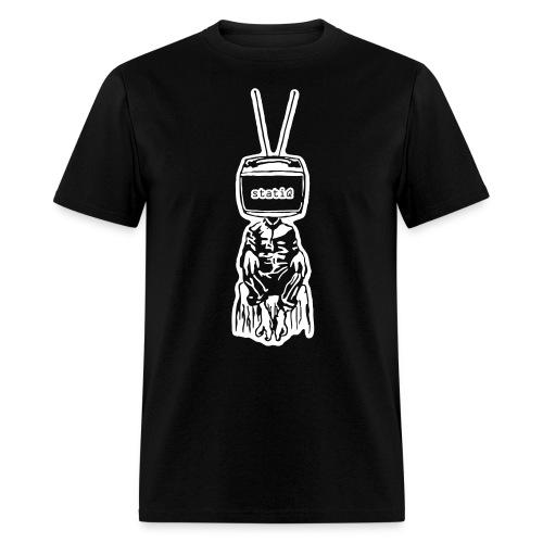 polydactyl/statiQ.org shirt - Men's T-Shirt