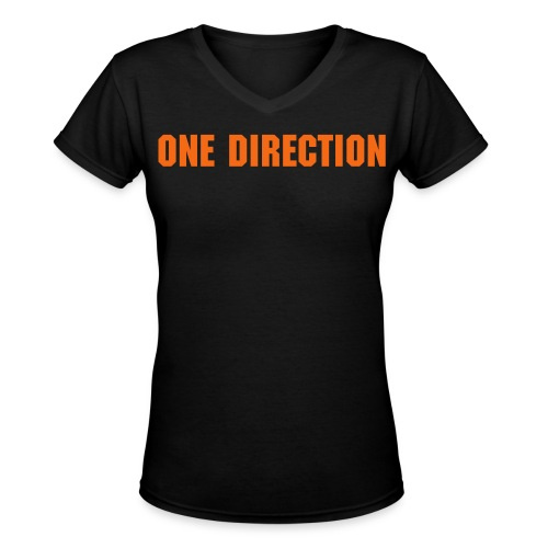 One Direction - Harry - Women's V-Neck T-Shirt