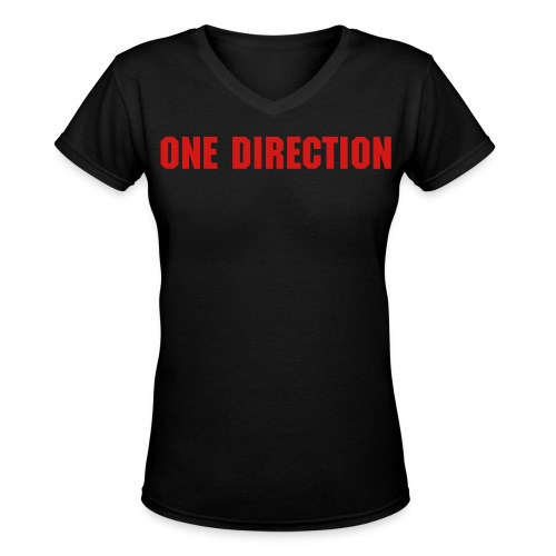 One Direction - Louis - Women's V-Neck T-Shirt