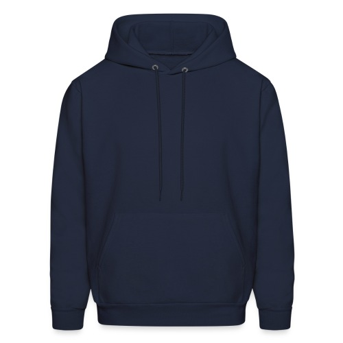 Men's Hoodie - Also available in black, white, and red.
