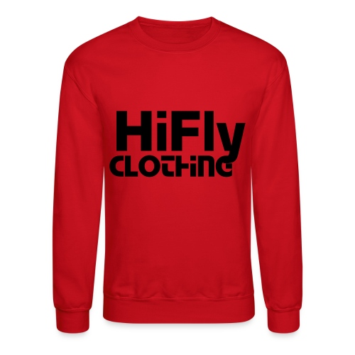 Official HiFlyClothing Red CrewNeck - Crewneck Sweatshirt