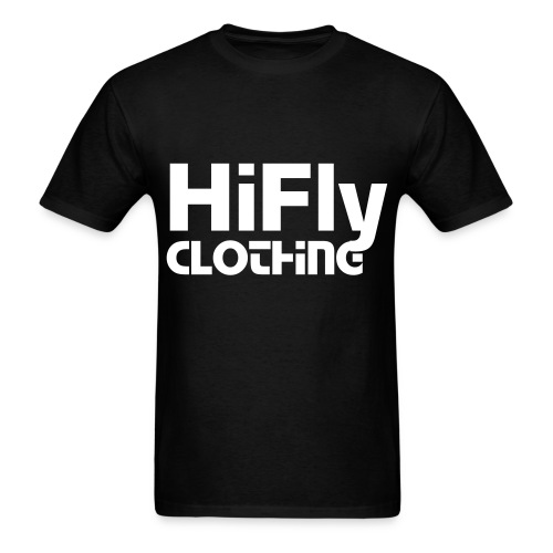 Official HiFlyClothing Black Tee - Men's T-Shirt