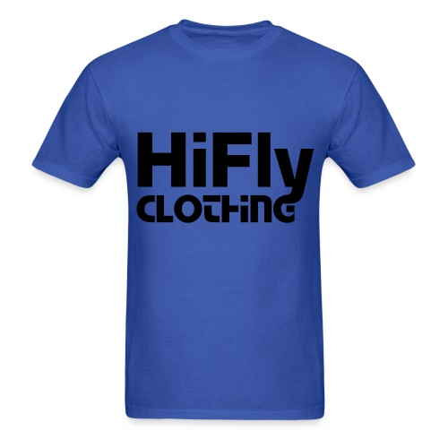 Official HiFlyClothing Blue Tee - Men's T-Shirt