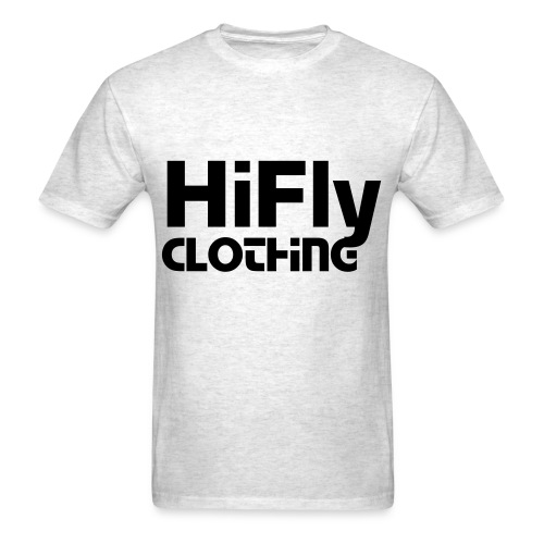 Official HiFlyClothing Grey Tee - Men's T-Shirt