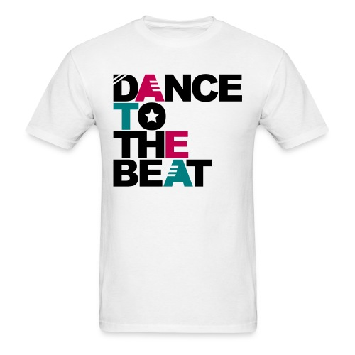 DANCE TO THE BEAT T-SHIRT - Men's T-Shirt