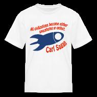 Kids' Shirts ~ Kids' T-Shirt ~ All Civilizations - Carl Sagan