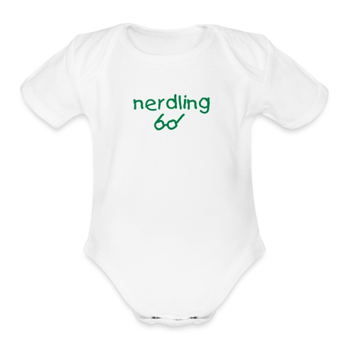 Nerdling - original - Organic Short Sleeve Baby Bodysuit