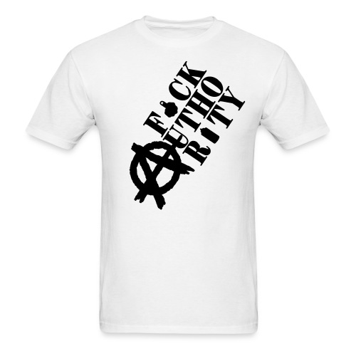 F*CK AUTHORITY - Men's T-Shirt