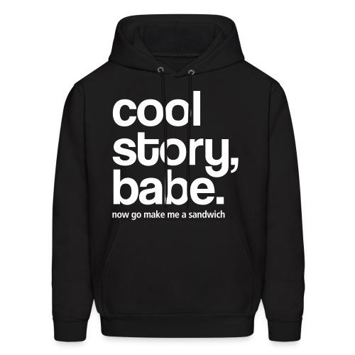cool story bro - Men's Hoodie