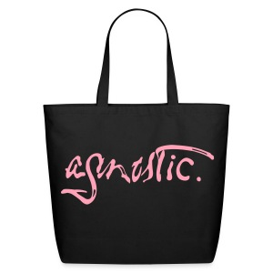 Agnostic Paint Script by Tai's Tees - Eco-Friendly Cotton Tote
