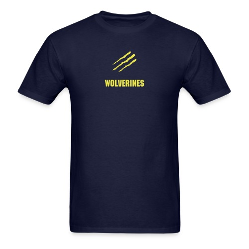 Wolverines T-Shirt - Yellow Graphic - Men's T-Shirt