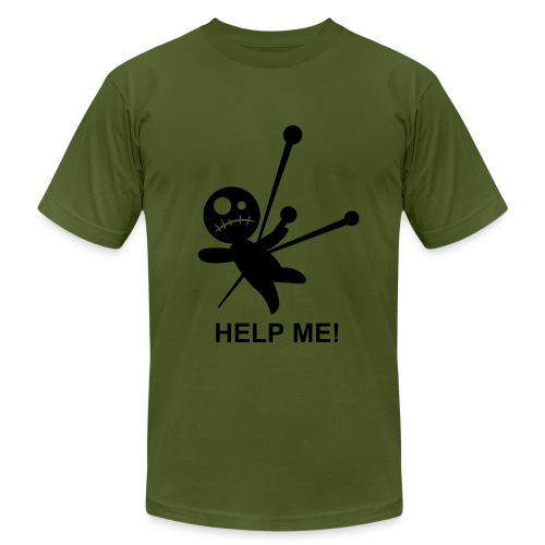 Crying for help - Men's Fine Jersey T-Shirt