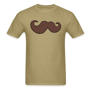 The Legend of the Mustache - Men's T-Shirt