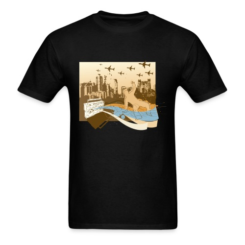 gettoblast - Men's T-Shirt
